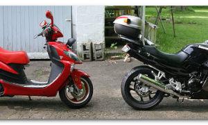 Что лучше выбрать – скутер или мотоцикл?