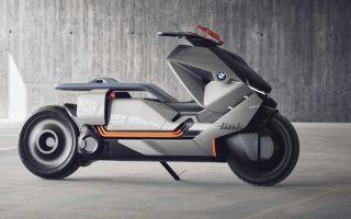 Concept  Link – новый футуристический концепт электроскутера от BMW
