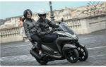 Обзор трехколесного скутера Yamaha Tricity – MBK Tryptik 125 Euro 4 2017