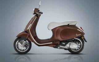 Юбилейные модели Primavera Vespa к 50-летию бренда