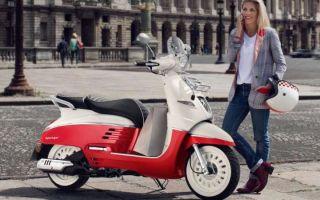 От классического до спортивного! Появился новый скутер Peugeot