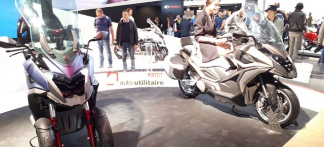 Moto News 2017: Kymco запускает две новые концепции максискутер «Touring»