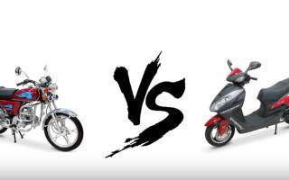 Что лучше — скутер или мопед? Извечный вопрос…