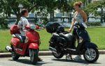 Когда и как водителям мопедов разрешено двигаться по дорогам?