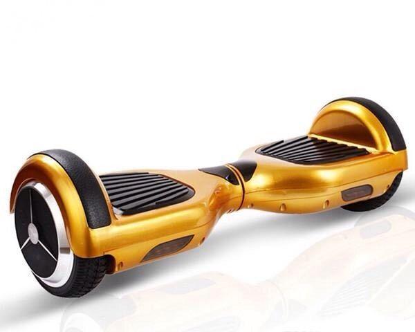 золотистый гироскутер