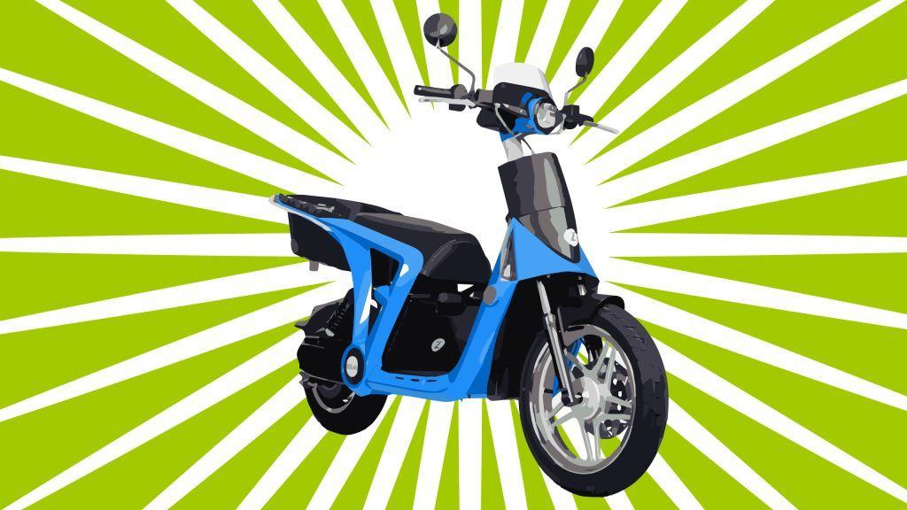 о весе скутеров 50 кубов