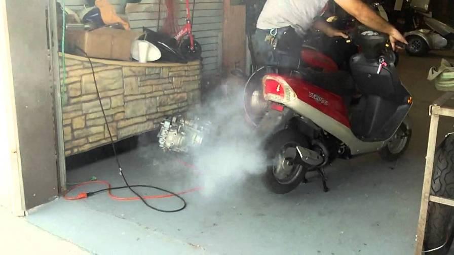 фото белого дыма